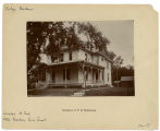 Cook Street, West - Number 411 - Residence of Philetus S. Hollenbeck
