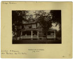 Wisconsin Street, West - Number 522 - Residence of Dr. Frederick D. Bentley - F.D. and Nora Bentley House