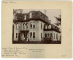 Franklin Street, West - Number 225 - Residence of Mrs. H. Doherty - Harriet and NH Wood House