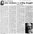 John Graham, a writing druggist