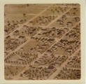 Richland Center, Bird's Eye View Map, portion only close up