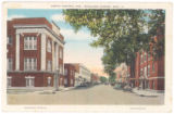 Central Avenue looking South from Mill Street in Richland Center, Wisconsin, 1935 copy 2