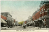 Court Street, looking west from Church Street, Richland Center, Wisconsin, 1910-1915, copy 1