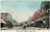 Court Street, looking west from Church Street, Richland Center, Wisconsin, 1910-1915, copy 2