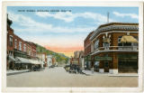 Court Street, looking east from Main Street, Richland Center, Wisconsin, ca. 1930 copy 3