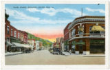 Court Street, looking east from Main Street, Richland Center, Wisconsin, ca. 1930 copy 4