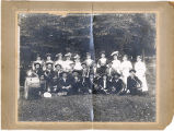 Bosstown Band and Drill Team, Richland County, Wisconsin, 1911, copy 2