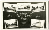 Greetings from West Lima, Bloom Township, Richland County, Wisconsin, 1916.
