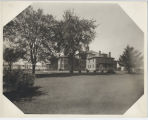 Asylum with Large Trees in Front at Richland Center, Wisconsin