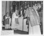Abbot Pennings 90th birthday mass