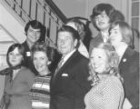 Ronald and Nancy Reagan with Young Republicans