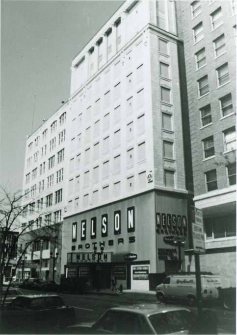 Nelson Brothers Furniture Store Front And Building Milwaukee