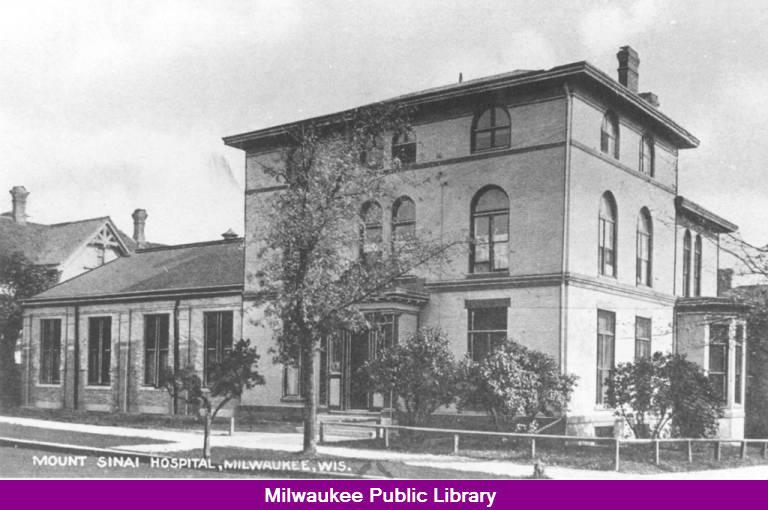 Mt  Sinai Hospital Original Hospital - Milwaukee Public