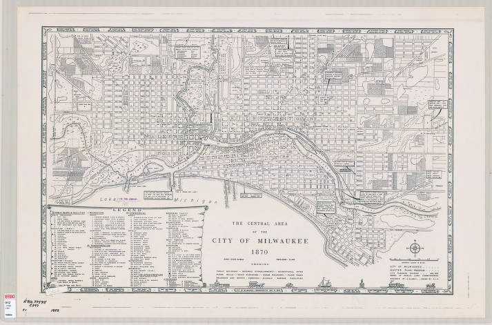 Milwaukee (Wisconsin) 1870 - Milwaukee Map Collection ... on city of la junta map, city of louisiana map, city of two rivers map, city of alcoa map, city of alamosa map, city of monona map, city of franklin map, city of broomfield map, city of fort smith map, city of bloomfield hills map, city of oklahoma map, city of milwaukie map, city of rice lake map, city of panama city map, city of delavan map, city of st john's map, city of marquette map, city of atlantic city map, city of brooklyn map, city of youngstown map,