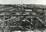 Steel frame of viaduct