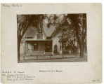 Howard Street, West - Number 217 - Residence of Dr. Byron C. Meacher