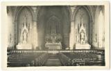 St. Mary's Church Interior, Richland Center, Wisconsin, ca. 1914
