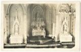 St. Mary's Church Alter, Richland Center, Wisconsin, ca. 1912.