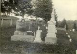 Tombstones of James Lucus, Vira Gusta Shaffer, & Lillie Shaffer