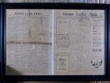 Stone Lake newspapers